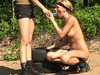 strap-on riding lesbian private
